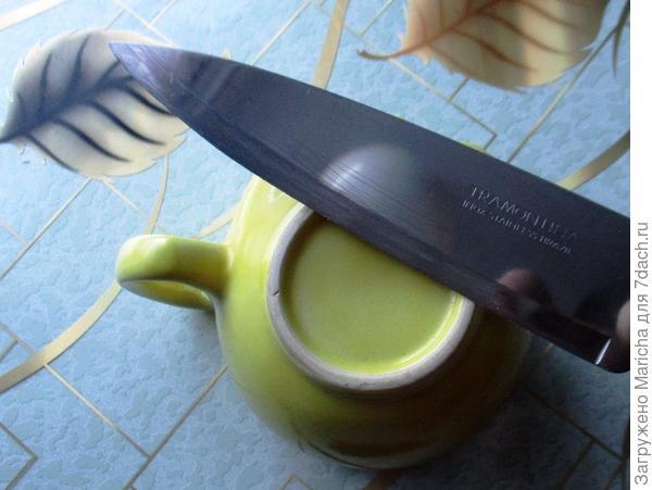 Точим ножик