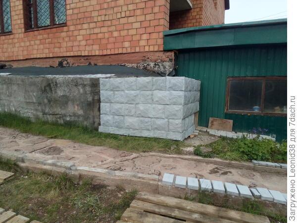 отделка камнем углов фасада
