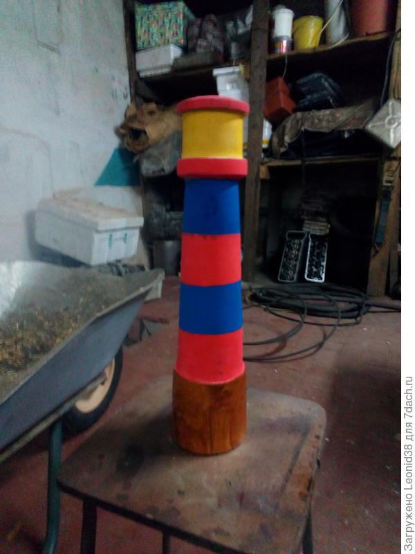 маяк для старшенького внука