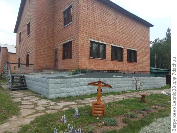 облицовываю фасад, сделанным камнем