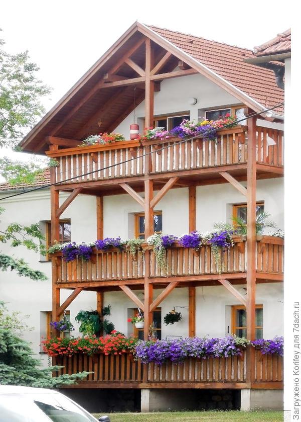 Домик в пригороде Вены, кажется у Венского леса