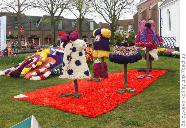 Вот так проходил фестиваль в голландском городе Ноорвикейхаут