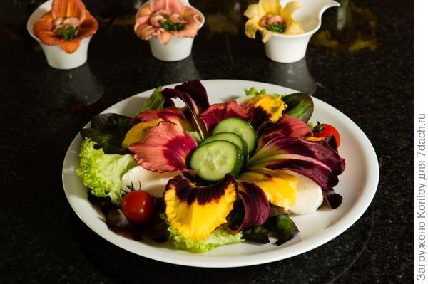 меня угощали вот таким салатом в Голландии -:)