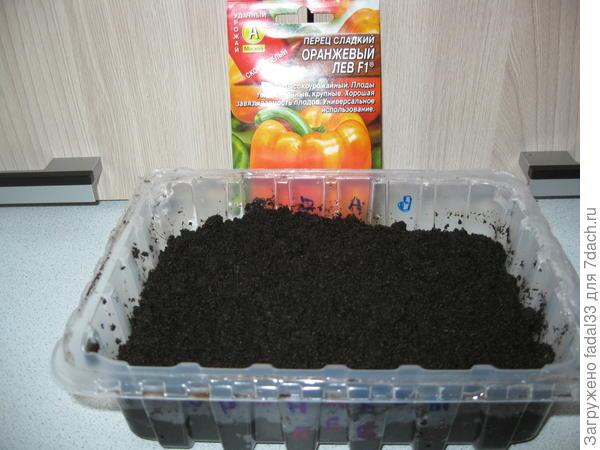 Теперь ждём прорастания семян)))