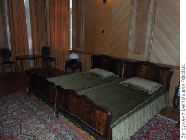 спальня Сталина