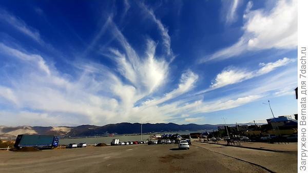 ...Здравствуй, небо, море Облака... (Земфира)