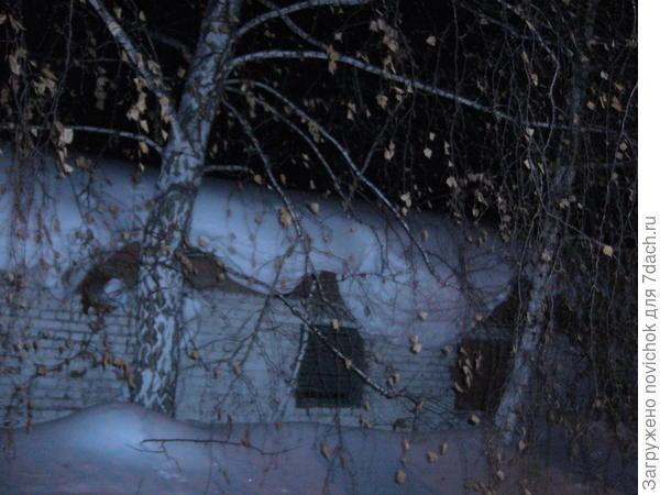 крыша хозблока детского сада