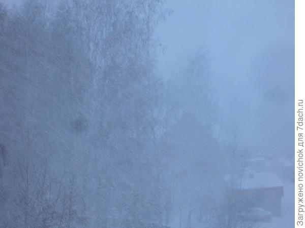 ноль градусов, а снега мало выпало к сегодняшнему морозу