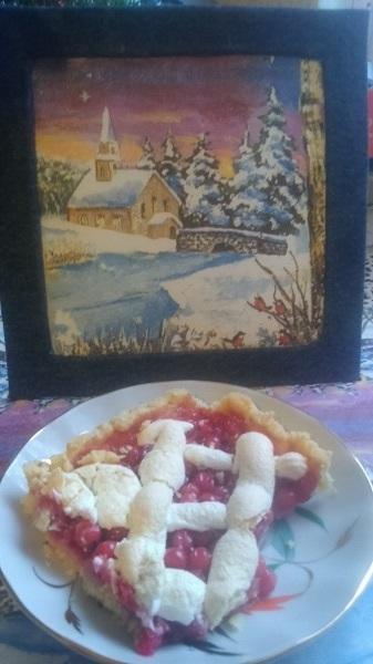 Кусочек Староновогоднего десерта
