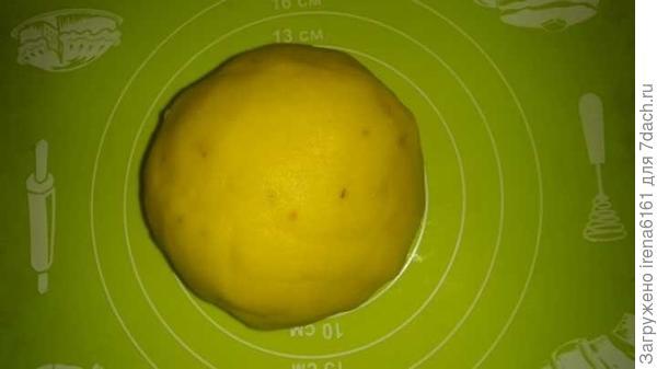 Вот такой шарик получился.