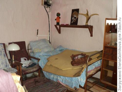 спальня на момент приобретения