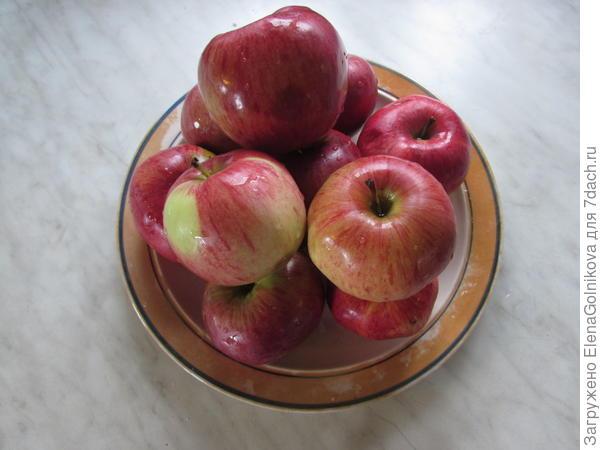 Яблоки сорта Мелба