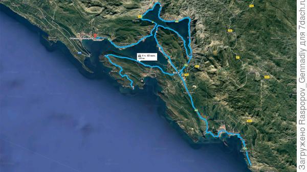 Мои дороги в Черногории за пять дней