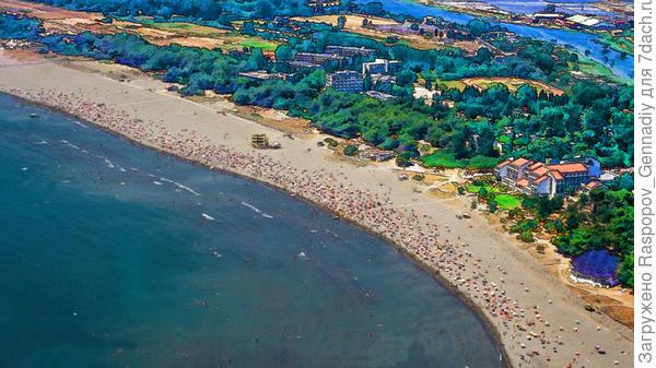 Великий Пляж за Ульцинем