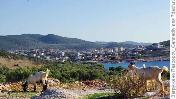 Албания, Ксамил, граница с Грецией