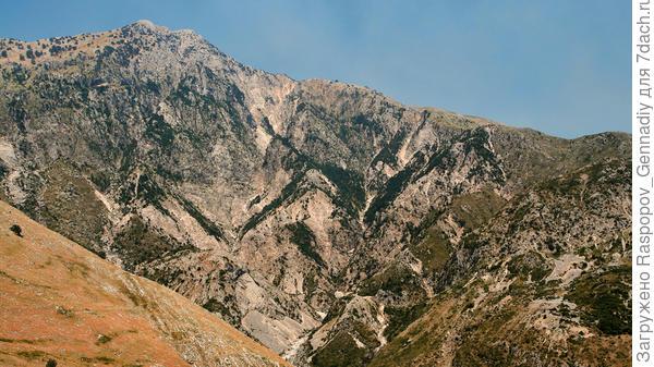 Горы Македонии