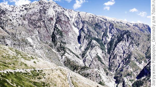 Белые горы Албании