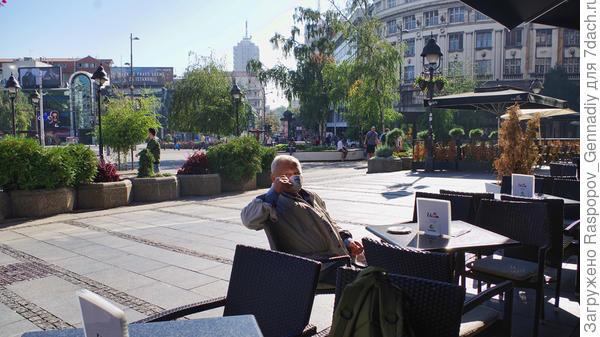Вкуснейший кофе в уличных кафе в 7 утра