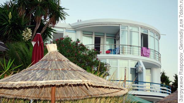 Гостиница на райском островке