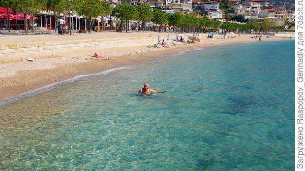 Купание на пятом райском пляже в один день, перебор