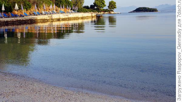 Чистейшие пляжи Ксамила