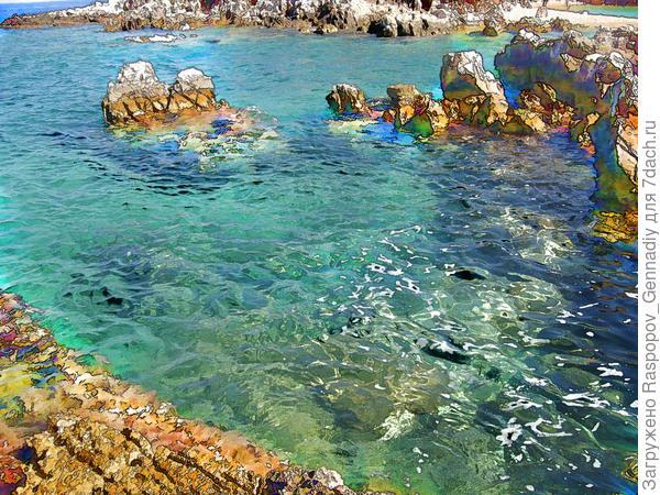 Море как на картине