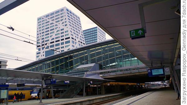 Вокзал здесь красив