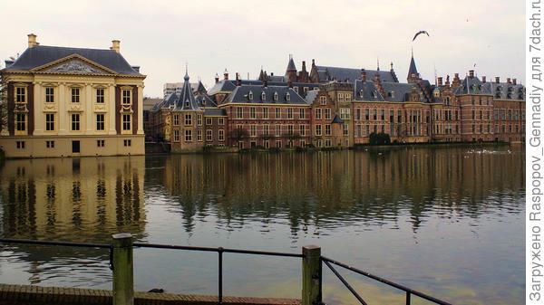 Как и в Амстердаме дома на воде