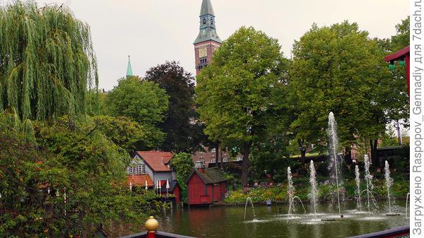 Вода и деревья