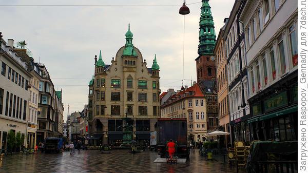 Типичный, незабываемый Копенгаген