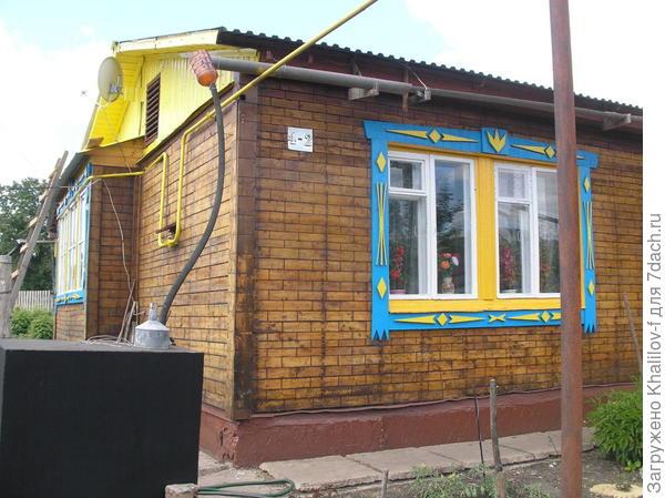 Собиратель дождевой воды скрыши дома в емкость 500 литров