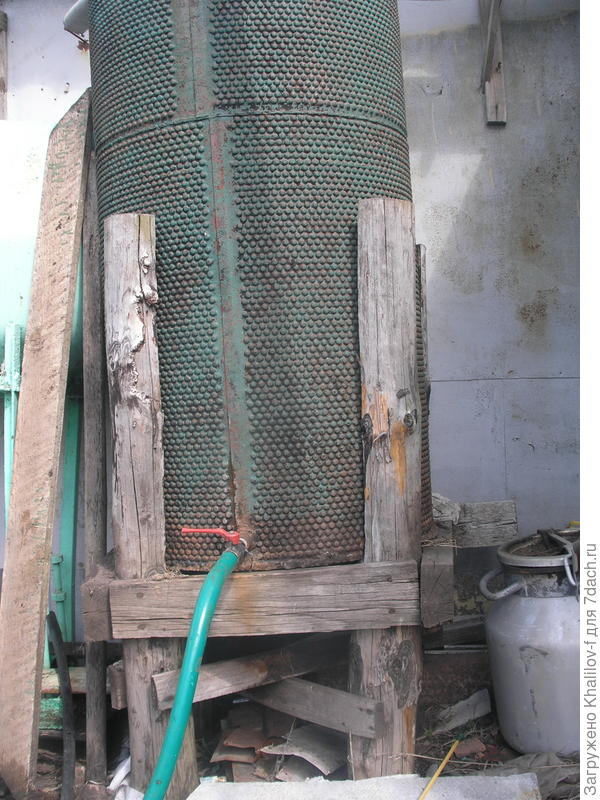 Емкость для сбора дождевой воды
