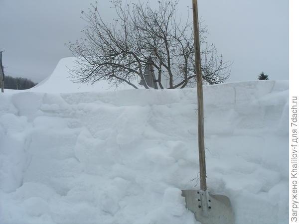 Снег, снег, кругом снег.......
