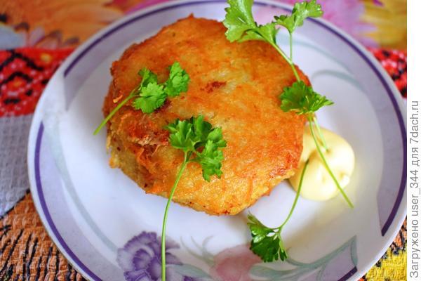 """Драники из картофеля с сюрпризом """"Колдуны"""""""