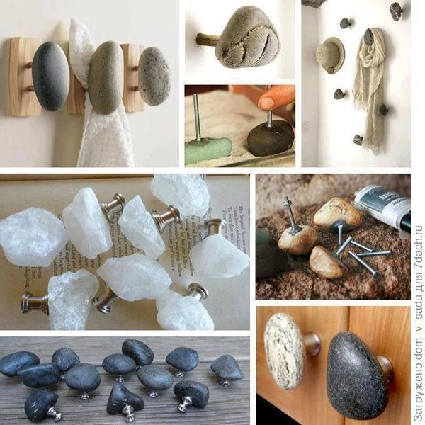 Мебельные ручки из натурального камня. Источник: elenconclub.files.wordpress.com