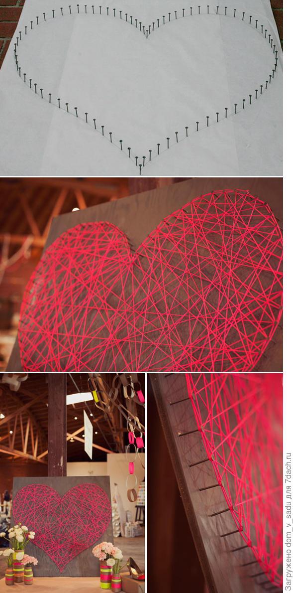 Декоративное панно Сердце. Источник: lesdivas.com.br