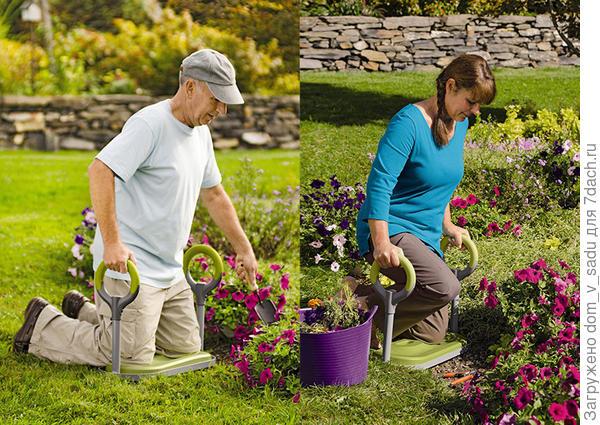 Коврик для работы на грядках. Фото с сайта gardeners.com