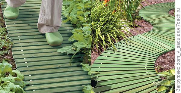 Портативные садовые дорожки. Фото с сайта improvementscatalog.com