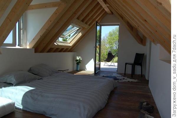 Спальное место прямо на полу
