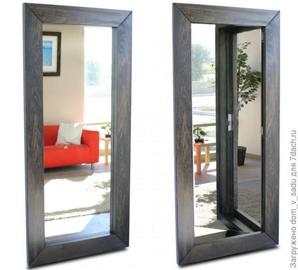 Дверь-зеркало