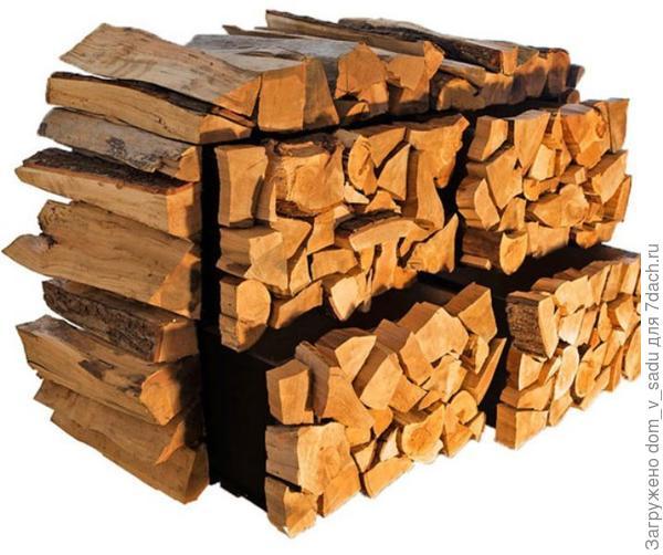 Тумба из дров