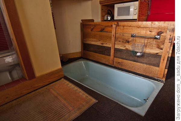 Ванна под полом
