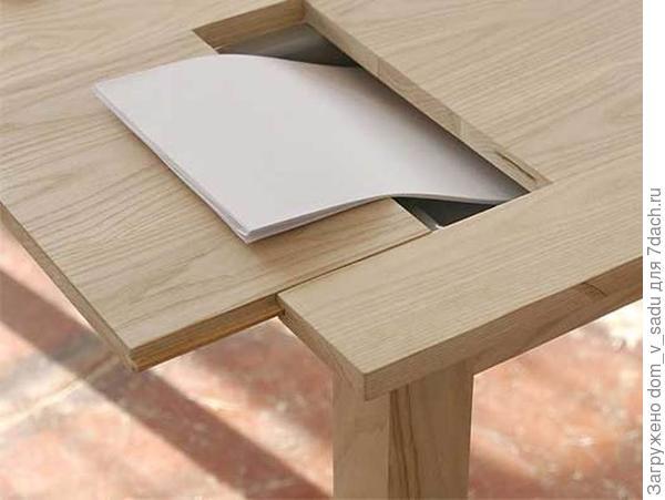 Стол с потайным дном