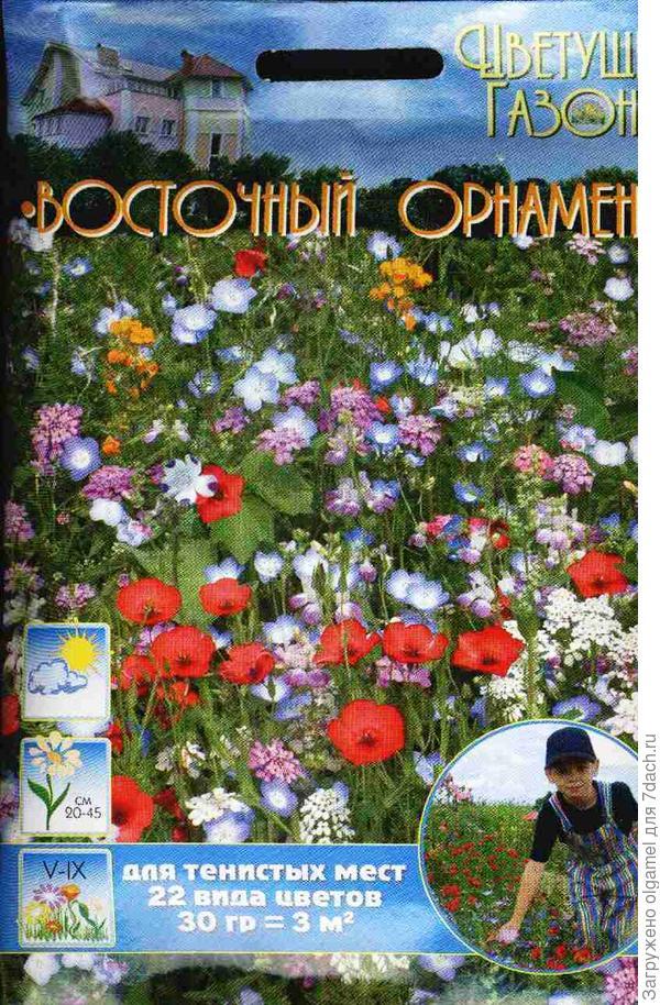 """Семена газона """"Восточный Орнамент"""""""