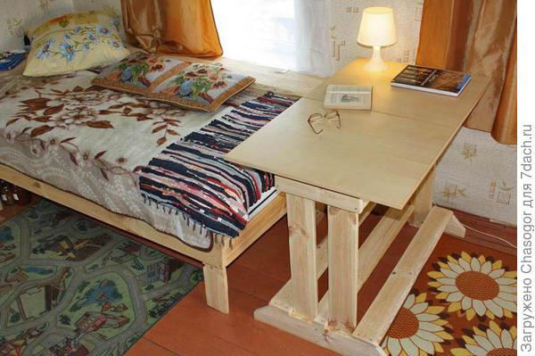 стол готов и поставлен на место