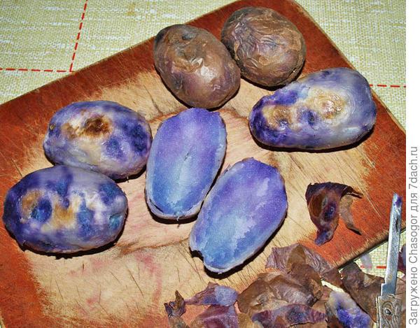 картофель печёный