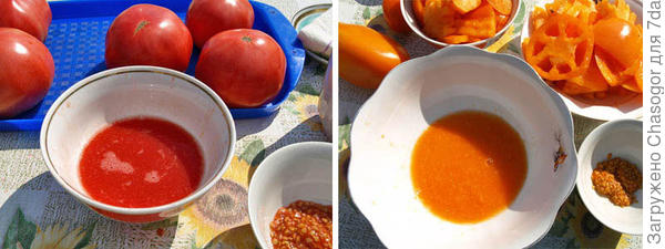 соки из свежих помидоров