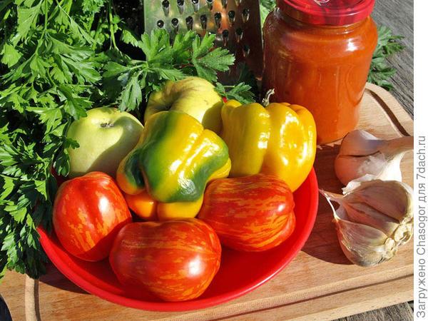 набор овощей для чатни