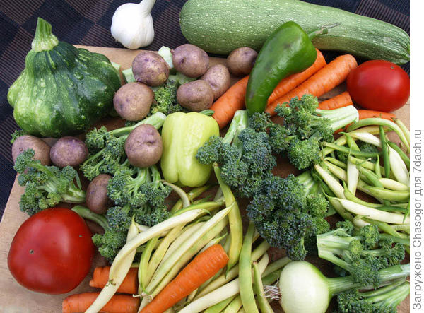 набор для овощного рагу