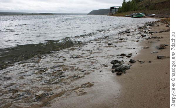 суровый берег Ангары